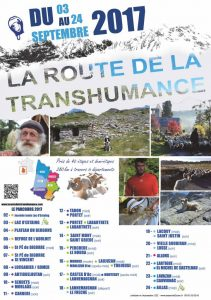 route transhumance 2017